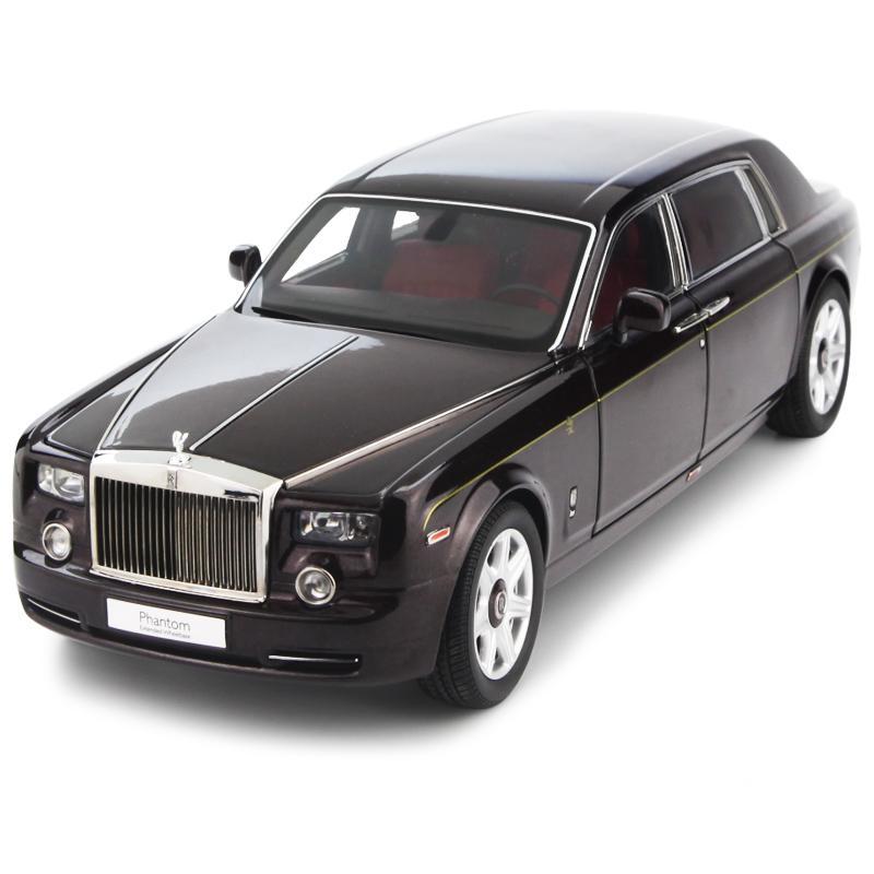 京商1:18 劳斯莱斯幻影加长 中国龙限量版2012 合金仿真静态汽车模型