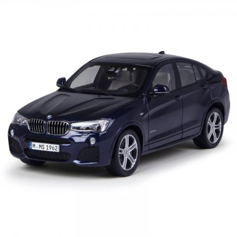 PARAGON 1:18 BMW X4 Imperial Blue