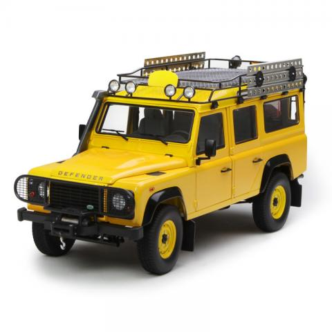 世纪龙 1:18 Land Rover Defender 110 黄色