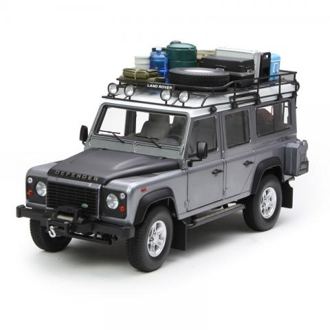 世纪龙 1:18 Land Rover Defender 110 灰色