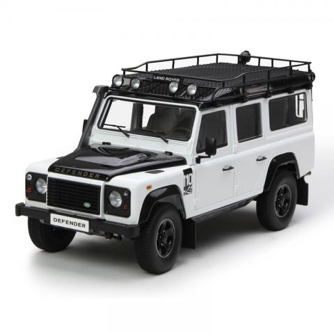 世纪龙 1:18 Land Rover Defender 110 白色