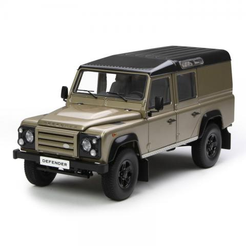 世纪龙 1:18 Land Rover Defender 110 褐色