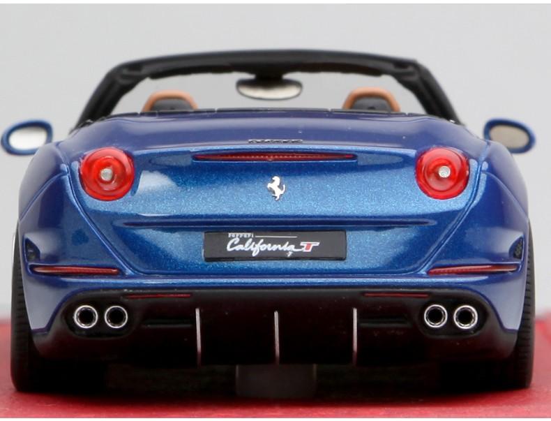 法拉利加利福尼亚_BBR 1:43仿真超跑汽车模型 法拉利California T敞篷 加利福尼亚T_1:43 ...